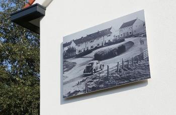 Renovatieproject geopend met unieke betonprint